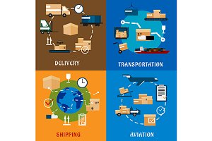 International delivery and logistics