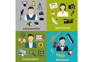 Reporter musician programmer