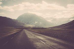 Mountain Landscape (Old Film Look)
