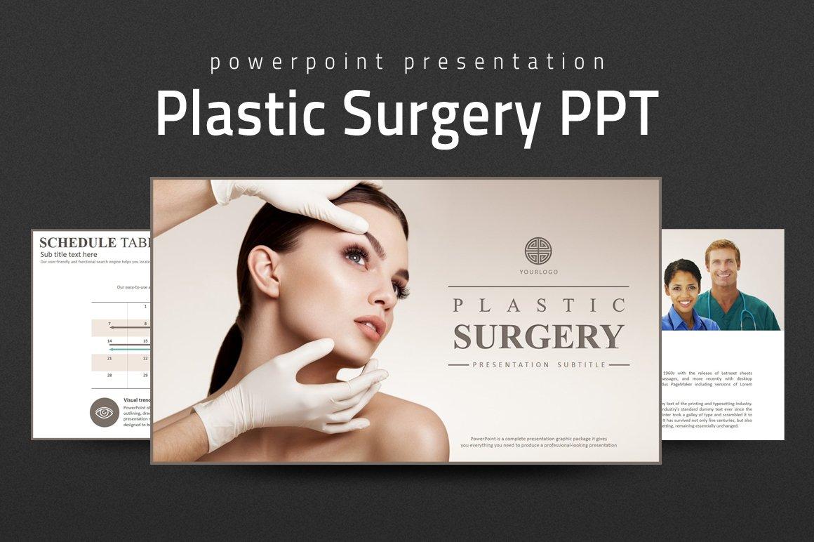 Plastic surgery ppt presentation templates creative market toneelgroepblik Images
