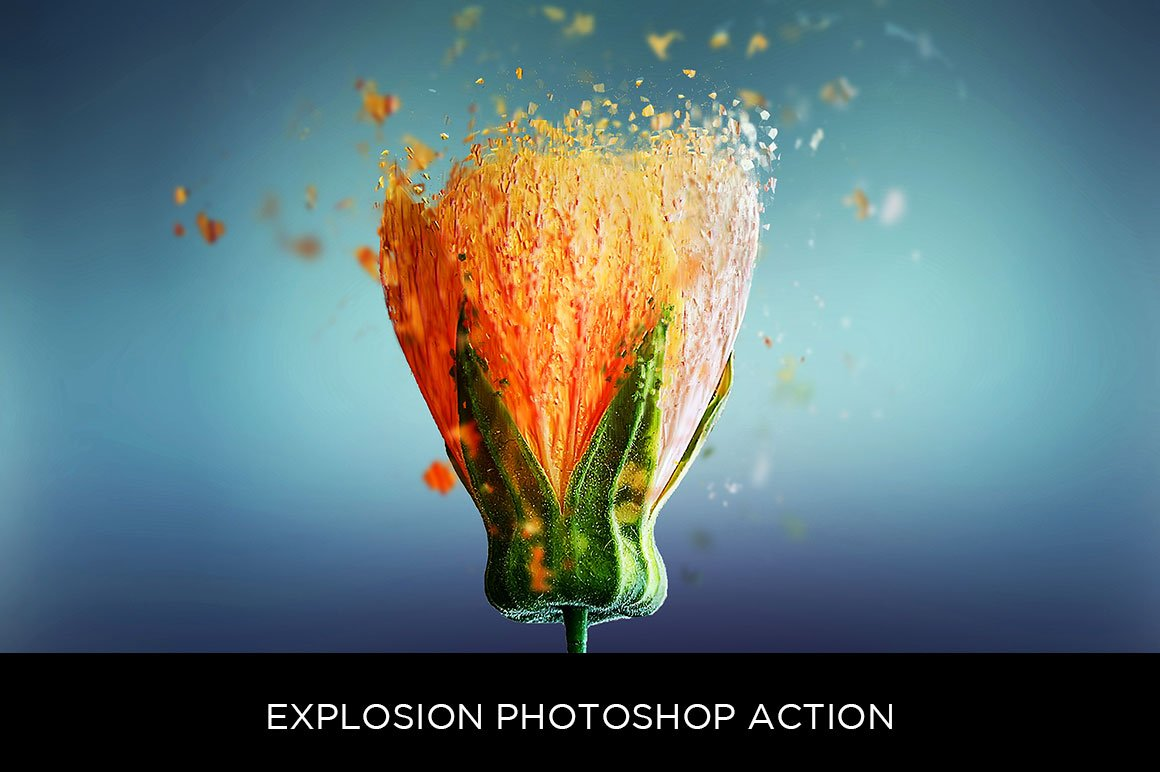 Explosion Photoshop Action by sevenstyles | GraphicRiver