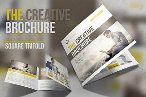 The Creative Brochure - Square 3fold