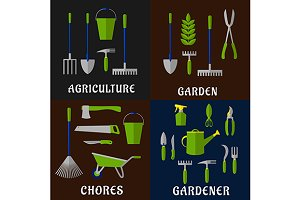 Tools for gardening and agriculture