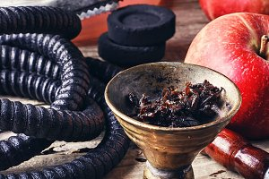 Preparation of hookah smoking