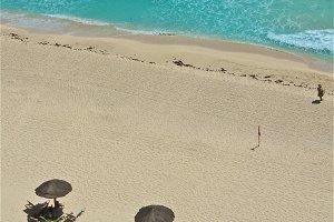 Aerial Beach Recreations