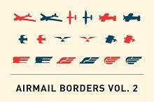 Airmail Borders Vol. 2