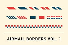 Airmail Borders