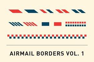 Airmail Borders