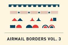 Airmail Borders Vol. 3