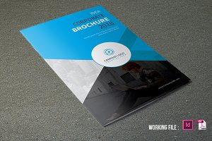 Corporate Brochure Template -V445