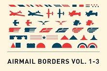 Airmail Borders Vol. 1-3