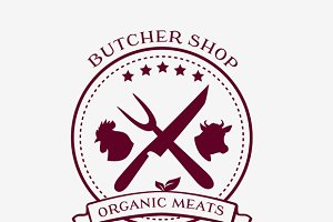 Butcher Shop Design Elements