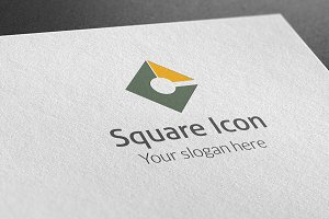 Square Icon Logo