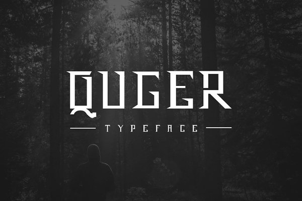 Blackletter Fonts - QUGER