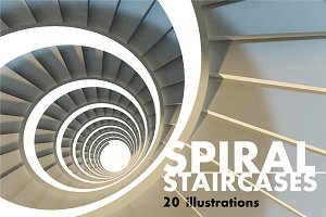 Spiral Staircases Set