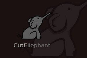 CutEllephant Logo