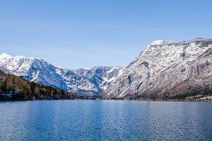 Bohinj lake landscape
