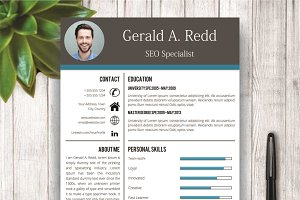 Creative CV / Resume Template