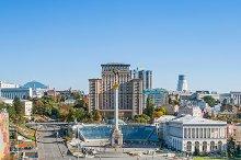 Maidan Nezalezhnosti. Kyiv, Ukraine