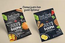 Summer Cookout Flyer + Bonus