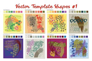 Vector Template Shapes #1