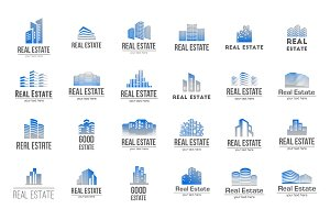 Real Estate Bundle: 24 Logos