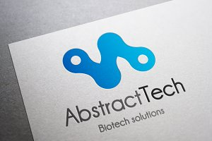 Logo Abstract Tech