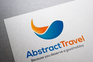 Logo Abstract Travel