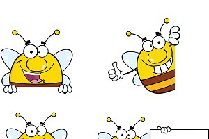 Bee Characters Collection - 7
