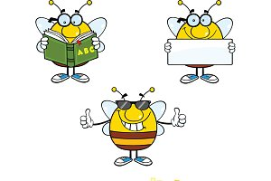 Bee Characters Collection - 8