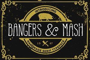 Bangers and Mash font