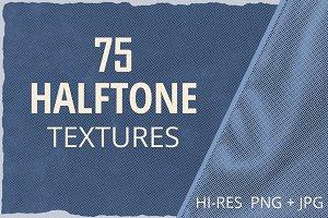 75 Halftone Textures