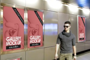 Gallery Poster Mockup 5