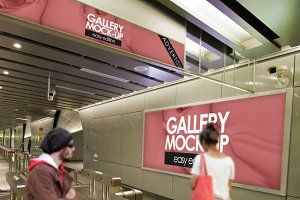 Gallery Poster Mockup 9