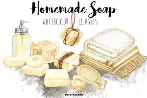 Homemade Soap Clipart