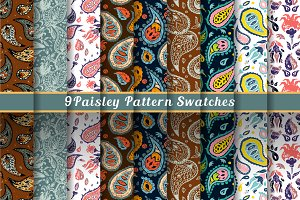 Paisley set & patterns