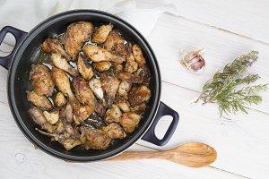Garlic Chicken Spanish style
