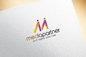 Media Partner Logo Template