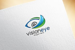 Vision Eye Logo Template
