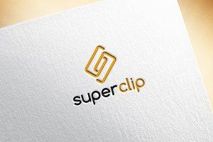 Super Clip / Letter S Logo Template