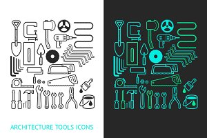 Architecture and Construction Tools.