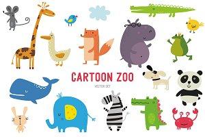 Funny vector zoo