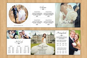 Square Trifold Pricing Brochure-V446