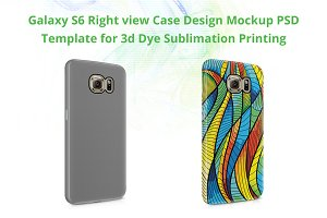 Galaxy S6 3d IMD Phone Cover-Right