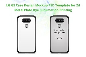 LG G5 2d IMD Case Mockup