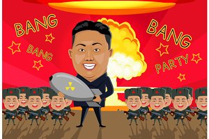 Bomb on North Korea