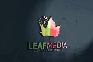 Leaf Media Logo