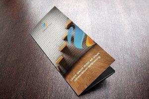 Corpo Tri Fold Brochure Template