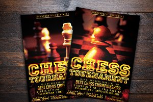 Chess Championships Sports Flyer