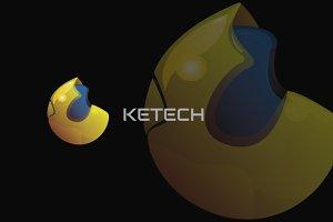 KETECH 3D LOGO DESIGN